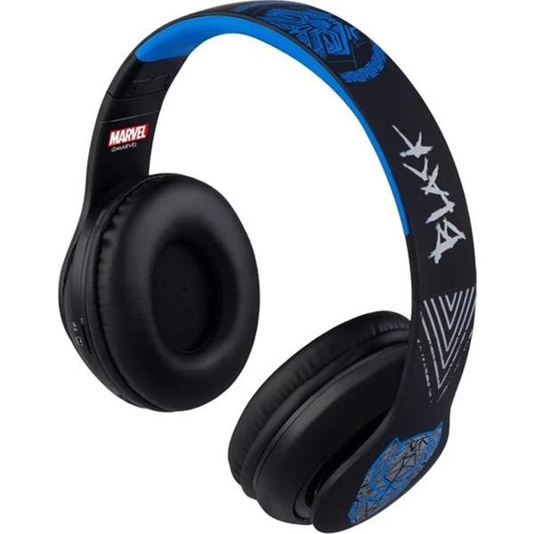 VOLKANO Headset - Marvel Adult Series BLACK PANTHER Headphone - MV-1007-BP