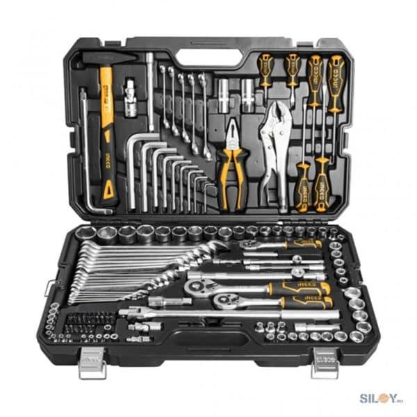 INGCO 142 Pcs Combination Tools Set HKTHP21421
